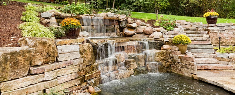 water feature displays